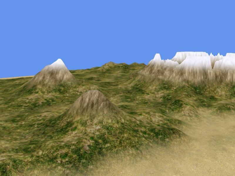 Heightmap Terrain Rendering Catalin ZZ - Terrain heightmap